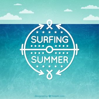 Surfing summer