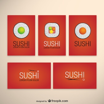 Sushi templates pack
