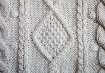 Sweater texture, knitted wool pattern