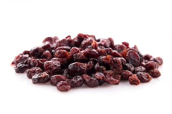 Sweet dehydrated red blueberry