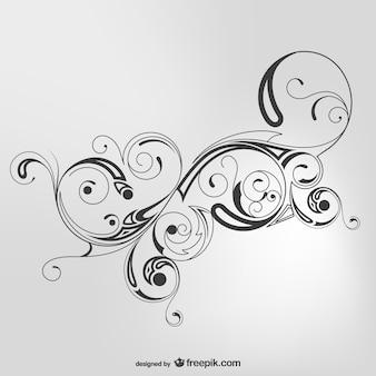 Swirl simple vector background
