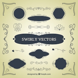 Swirly decoration