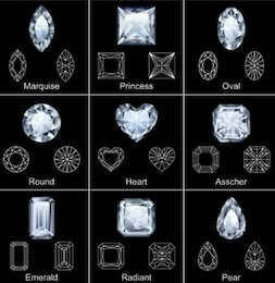 symmetrical diamond design vector pack