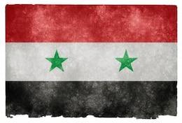 syria grunge flag  grime