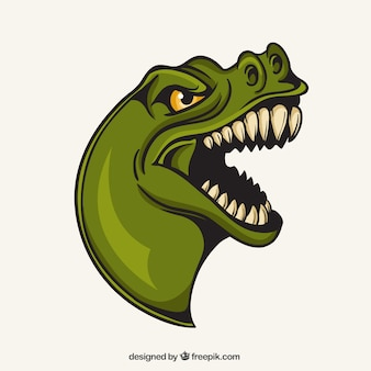T-rex mascot