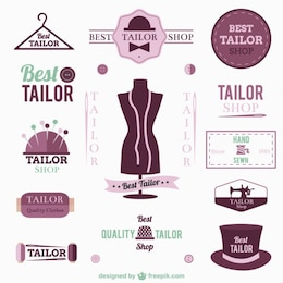 Tailor logos and badges