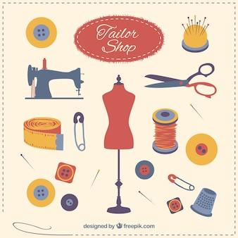Tailor shop elements
