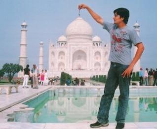 Tajmahal India, acting