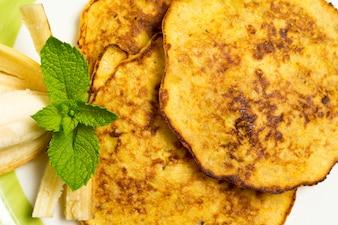 Tasty Banana pancakes