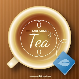 Tea cup free vector