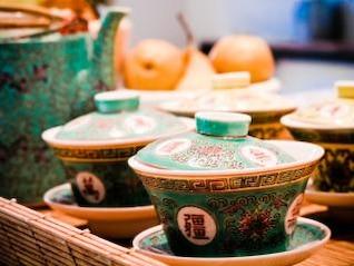 tea set  stilllife