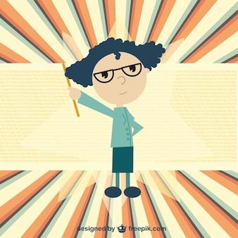 Teacher vector illustration
