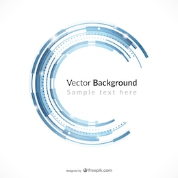 Technology background template