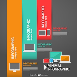 Technology devices free vector template