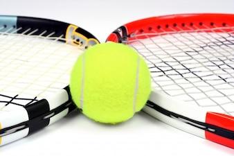 Tennis ball sport white yellow
