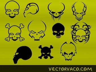 Terrific Tribal Skull