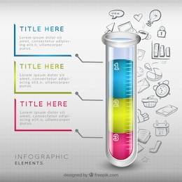 Test tube infographic