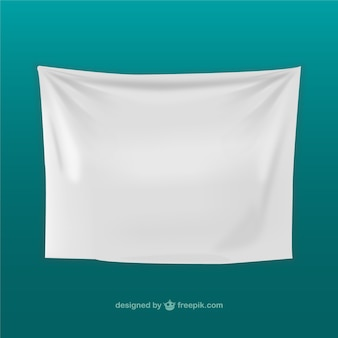 Textile banner template