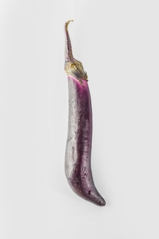 Texture eggplants dish background clipping