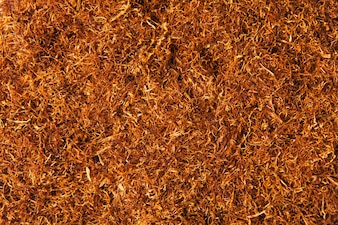 Texture of loose tobacco