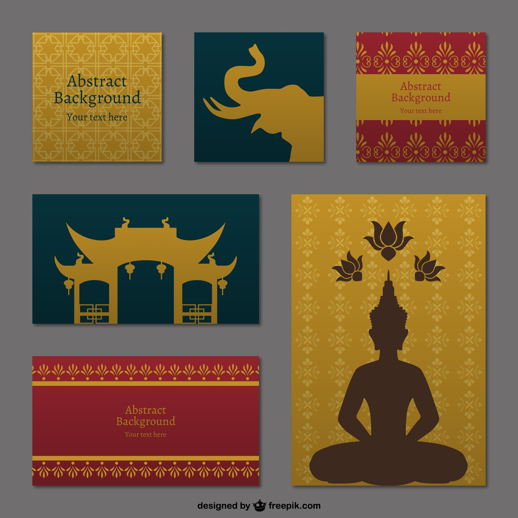 Thai backgrounds pack
