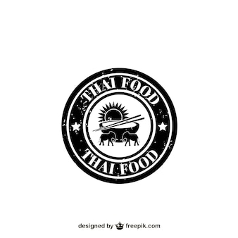 Thai food label
