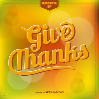 Thanksgiving lettering vector