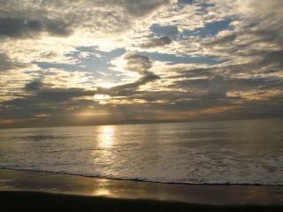 The atmosphere of coastal dunes, sand