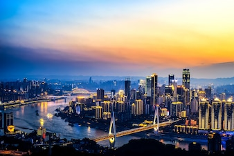 The beautiful city of Chongqing