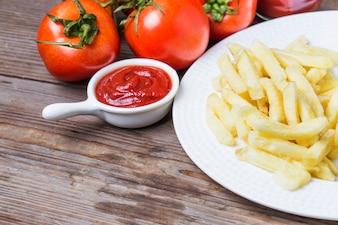 The board's tomato sauce