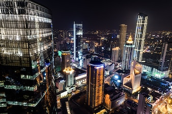 The china city night