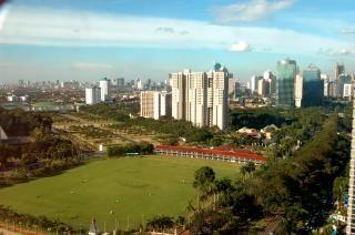 The City, sky