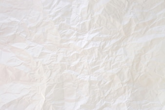 The crumpled paper background