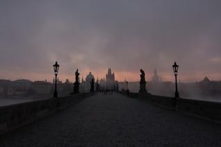 The gloomy bridge