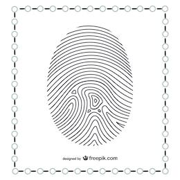 Thumb fingerprint