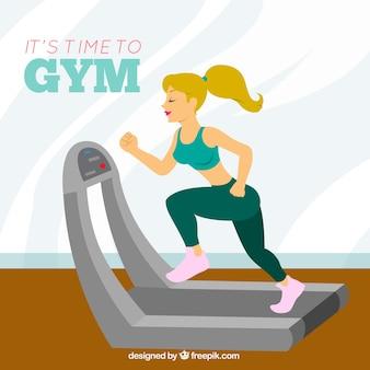 Time to gym