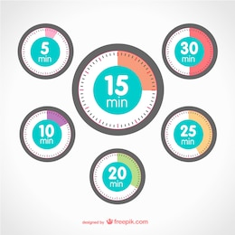 Timer vector elements