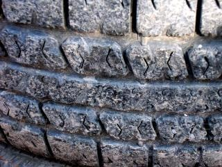 Tire, detail