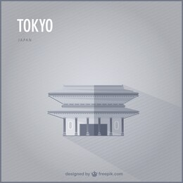 Tokyo vector landmark