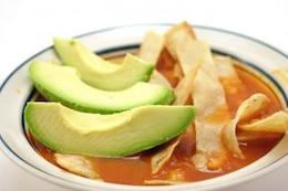 Tortilla soup, potato
