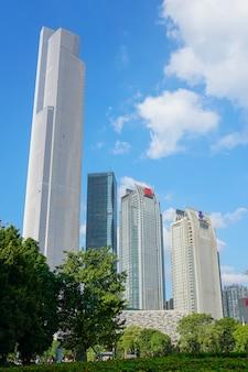 Tourism famous destination background blue sky