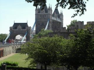 Tower bridge, London, structure