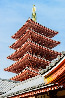 Tower japan shinto temple japanese