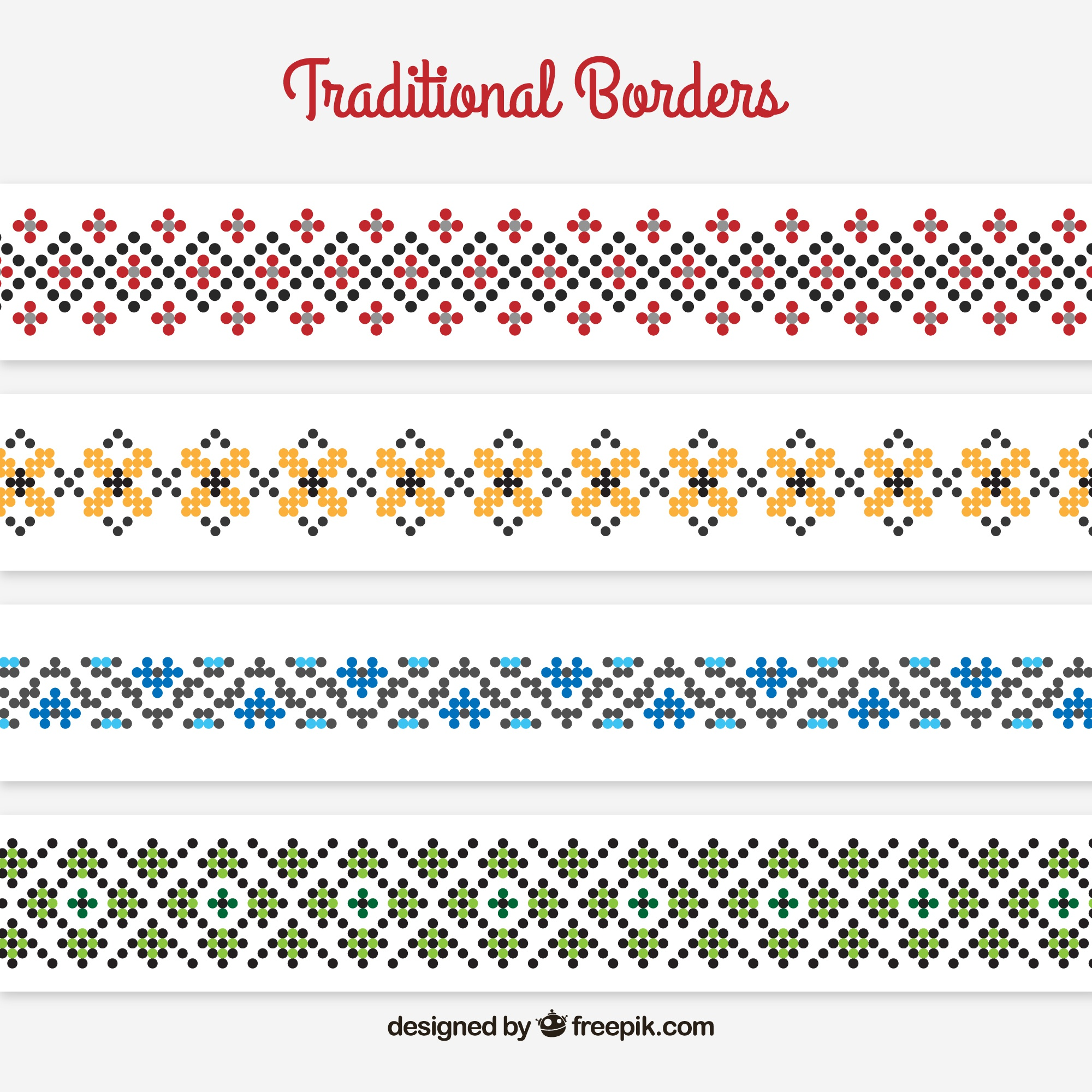 Traditional borders
