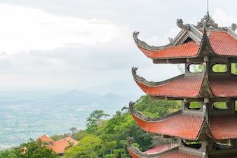 Traditional pagoda temple