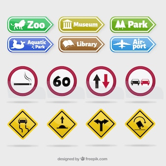Traffic sign collection
