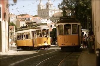 Tram wagons