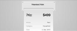 Transaction Receipt PSD