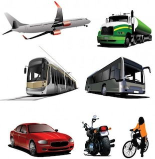 transports vector graphics