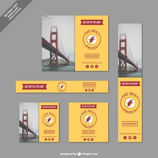 Travel banners with the best prices